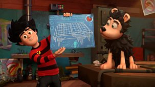Dennis & Gnasher Unleashed! - Series 1: 48. Double Crust
