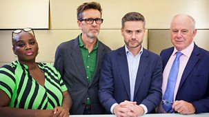 Great British Menu - Series 13: 35. North West - Judging