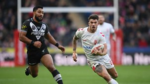 Rugby League - 2018: 2. England V New Zealand - First Test