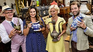 Celebrity Antiques Road Trip - Series 8: Episode 1