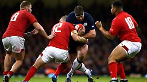 Rugby Union - 2018/19: 5. Wales V Scotland