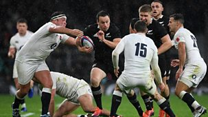 Rugby Union - 2018/19: 8. England V New Zealand Highlights