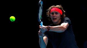 Tennis: World Tour Finals - 2018: Day 2 - Alexander Zverev V Marin Cilic