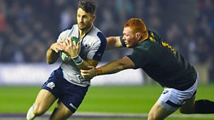Rugby Union - 2018/19: 10. Scotland V South Africa