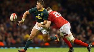 Rugby Union - 2018/19: 13. Wales V South Africa