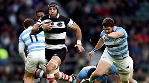 Rugby Union - 2018/19: 15. Barbarians V Argentina