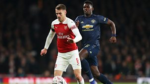 Fa Cup - 2018/19: Fourth Round: Arsenal V Manchester United