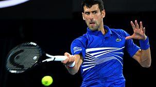 Australian Open Tennis - 2019: 7. Highlights - Semi-finals Part 2