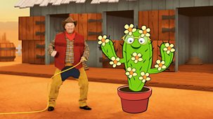 Gigglebiz - Series 5: 12. Wild Wez's Thirsty Cactus