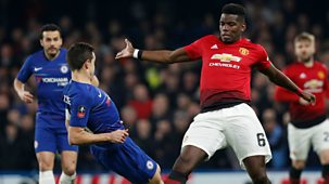 Fa Cup - 2018/19: Fifth Round: Chelsea V Manchester United