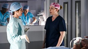 Holby City - Series 21: 10. Powerless
