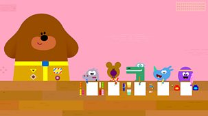 Hey Duggee - Series 3: 7. The Pen Pal Badge