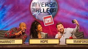 Comic Relief - 2019: 1. University Challenge