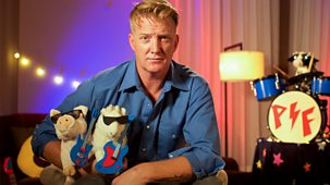Cbeebies Bedtime Stories - 703. Josh Homme – Punk Farm On Tour