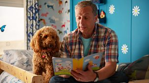 Waffle The Wonder Dog - Series 3: 10. Waffle Learns To Read