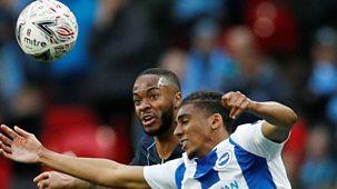 Fa Cup - 2018/19: Semi-final: Manchester City V Brighton & Hove<span Class=