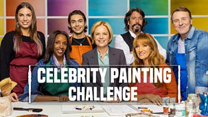 Celebrity Painting Challenge - Series 1: Episode 1