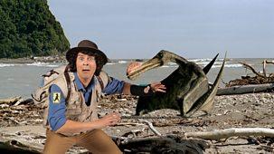 Andy's Dinosaur Adventures - Ornithocheirus And Sand Dollar