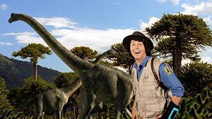 Andy's Dinosaur Adventures - Brachiosaurus And Monkey Puzzle