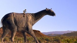 Andy's Prehistoric Adventures - 6. Paraceratherium And Footprint