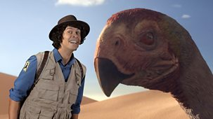 Andy's Prehistoric Adventures - 14. Gigantoraptor And Feather