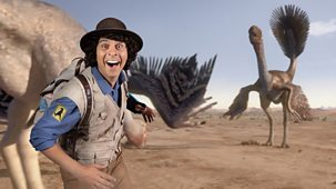Andy's Prehistoric Adventures - 25. Gigantoraptor And Tumbleweed