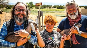 Hairy Bikers: Route 66 - Series 1: Episode 4