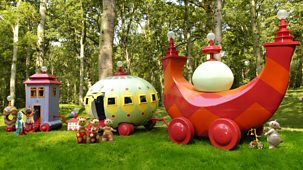 In The Night Garden - Series 1 - Everybody All Aboard The Ninky Nonk