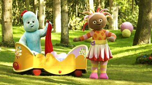 In The Night Garden - Series 1 - Igglepiggle Looks For Upsy Daisy And Follows Her Bed