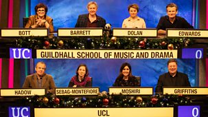 University Challenge - Christmas 2019: 3. Guildhall School Of Music And Drama V Ucl