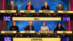 University Challenge - Christmas 2019: 4. Liverpool V Hull