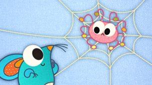 Patchwork Pals - Series 2: 8. Patchwork Spider
