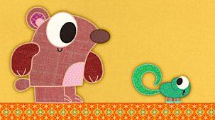 Patchwork Pals - Series 2: 11. Patchwork Gecko