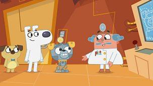 Dog Loves Books - Series 1: 4. Dog Loves Robots