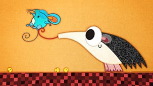 Patchwork Pals - Series 2: 20. Patchworkanteater