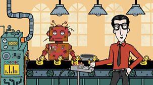 Nick Cope's Popcast - Series 1: 7. Robot