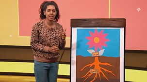 Bitesize: 7-9 Year Olds - Week 2: 2. Science Plus Plants Facts And Painting
