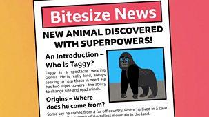 Bitesize: 7-9 Year Olds - Week 3: 8. Teacher Talks: English - Organising Writing