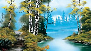 The Joy Of Painting - Series 1: 14. Lakeside Path