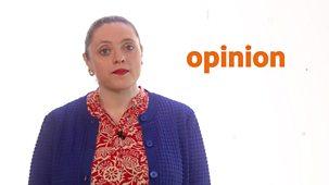 Bitesize: 9-11 Year Olds - Week 4: 11. Teacher Talks: English - Fact And Opinion