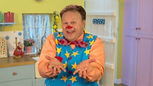 At Home With Mr Tumble - Series 1: 1. Wash Your Hands Poster