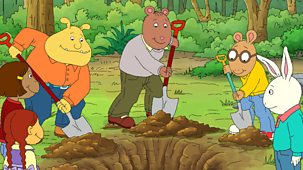 Arthur - Series 21: 2. Brain And The Time Capsule