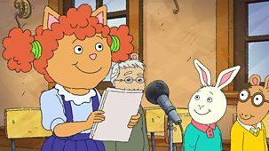 Arthur - Series 21: 6. Sue Ellen And The Last Page
