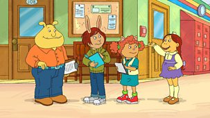 Arthur - Series 21: 7. Muffy Misses Out