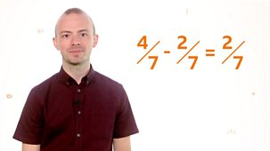 Bitesize: 9-11 Year Olds - Week 6: 17. Teacher Talks: Maths – Using Operations With Fractions