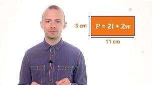 Bitesize: 9-11 Year Olds - Week 6: 18. Teacher Talks: Maths – Calculating Area And Perimeter Using Algebra.
