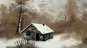 The Joy Of Painting - Series 2: 13. Winter Cabin