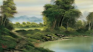 The Joy Of Painting - Series 2: 14. Secluded Lake