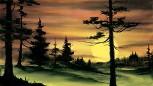 The Joy Of Painting - Series 2: 15. Evergreens At Sunset