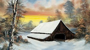 The Joy Of Painting - Series 2: 17. Barn At Sunset